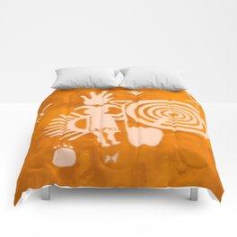 Petroglyphs 2 Comforters
