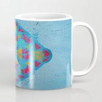 spiritual Mugs featuring Spiritual by Caroline David