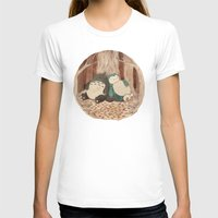 snorlax T-shirts featuring Best Friends Forevah by Najmah Salam