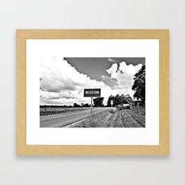 The Road to Wisdom Framed Art Print