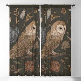 Harvest Owl Blackout Curtain