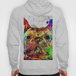 French Bulldog Grunge Hoody