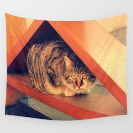 Kitty Cat Wall Tapestry
