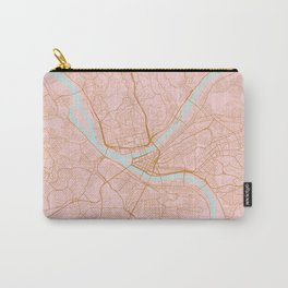 Pittsburgh map, Pennsylvania Carry-All Pouch