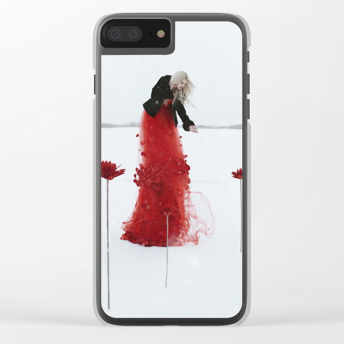 Your life is your garden Clear iPhone Case