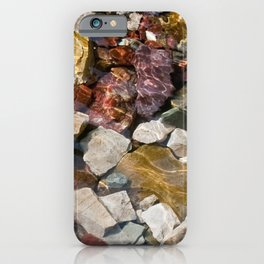 Colorful Glacial Rocks iPhone Case