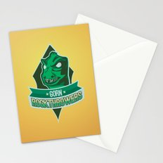 Gorn Rockthrowers Stationery Cards