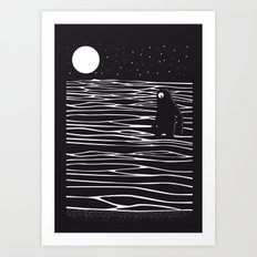 Scary monster! Art Print