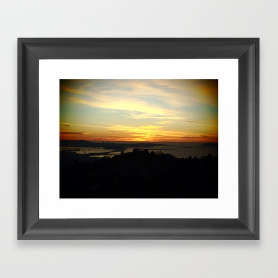 San Francisco, California Framed Art Print