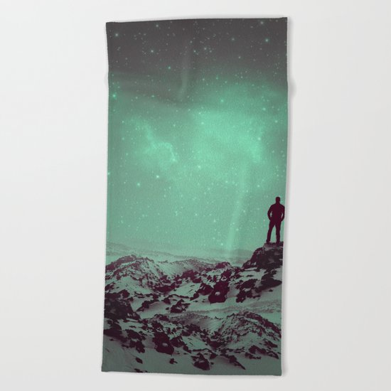 Lost the Moon While Counting Stars II Beach Towel