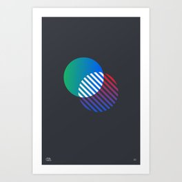 Relatives 30 Art Print