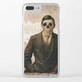 dermis_4 Clear iPhone Case