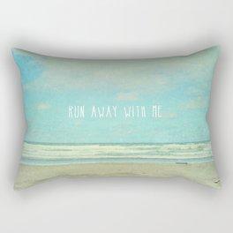 run away with me Rectangular Pillow