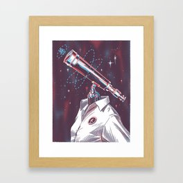 Mesearcher Framed Art Print