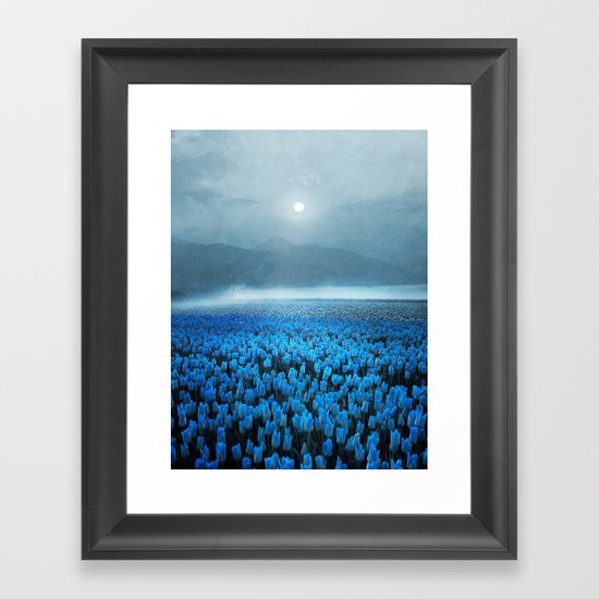 magical Tulips Framed Art Print