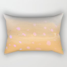 Peach Beach Memories Rectangular Pillow