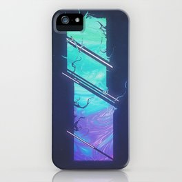 DAY 99: GLACIER GUSH iPhone Case