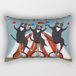 The Circus Cats Rectangular Pillow