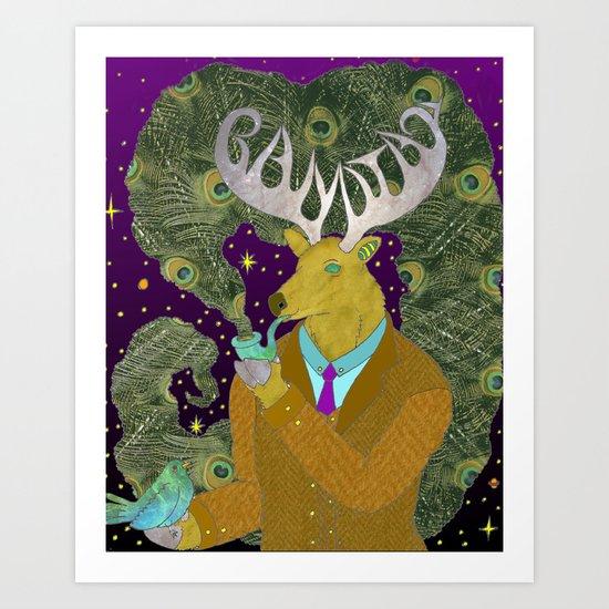 Dearest Deer Art Print