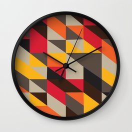On A Hot, Hot African Night Wall Clock