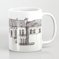 brussels Mugs featuring Brussels by MadmFia