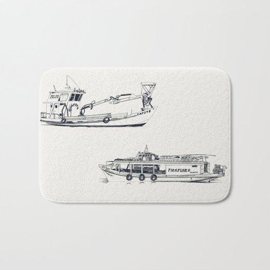 On paper: Capote y Picaflor Bath Mat