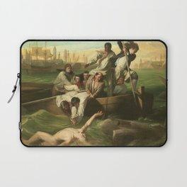 Classical Masterpiece 'Watson and the Shark' by John Singleton Copley Laptop Sleeve