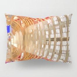 Paddington Railway Station Pop Art Pillow Sham