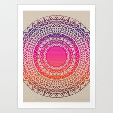 Secret writing Art Print
