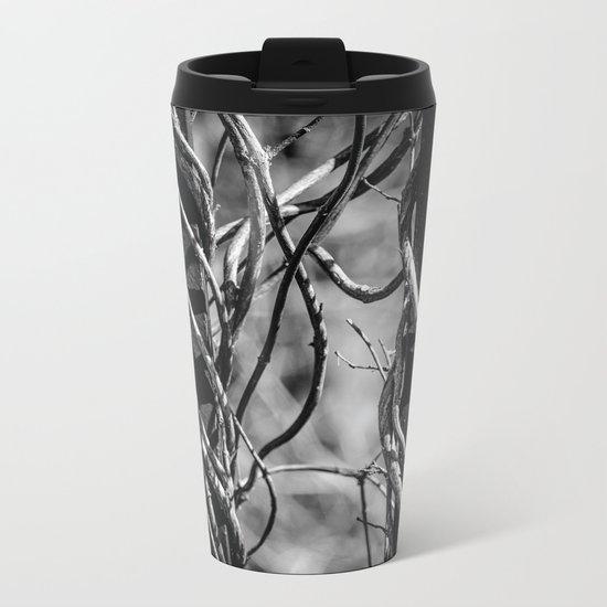 Twisted & Tangled Metal Travel Mug