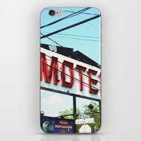 montreal iPhone & iPod Skins featuring MONTREAL by sylvianerobini