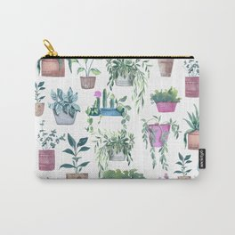Garden Plants Collection Carry-All Pouch
