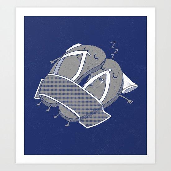 'sleep'pers Art Print