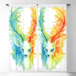 Feather Fawn Blackout Curtain