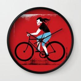 Ride or Die No. 2 Wall Clock