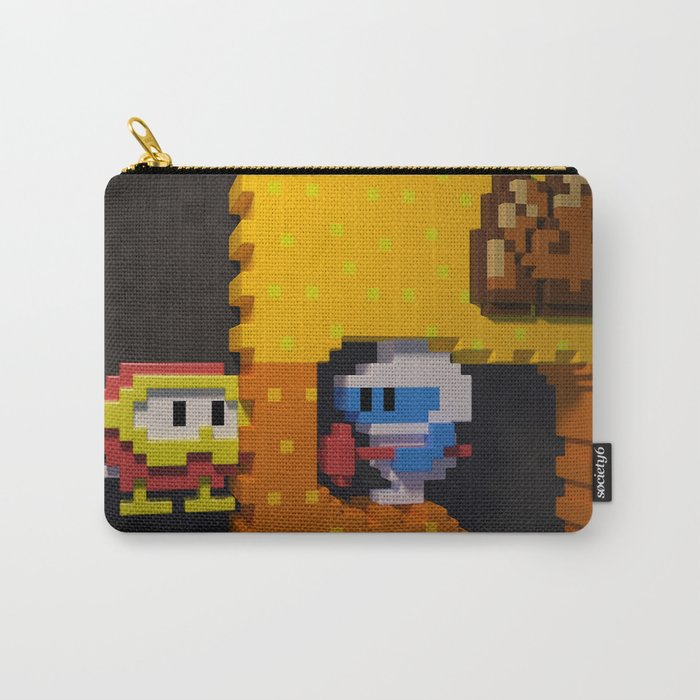 Inside Dig Dug Carry-All Pouch