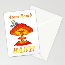 """Fallout 4 """"Atom Bomb Baby!"""" Stationery Cards"""