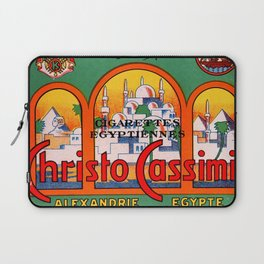 Christo Cassimis Egyptian Cigarettes Laptop Sleeve
