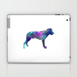 Majorca Shepherd Dog in watercolor Laptop & iPad Skin