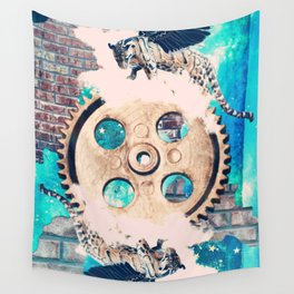 The Wheel of Fortune Wall Tapestry