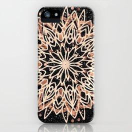 Metallic Mandala iPhone Case