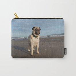 Pug & Beach Carry-All Pouch