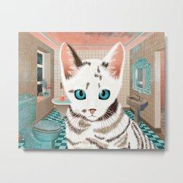 Sialata, the Kitty Cat Metal Print