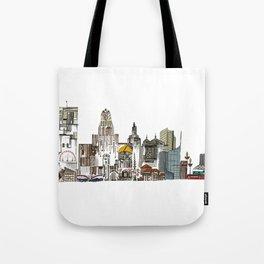 Queen City, Buffalo NY Tote Bag