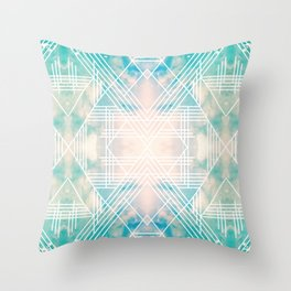 Ghost of me Throw Pillow