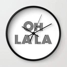 Oh La La - minimal Wall Clock