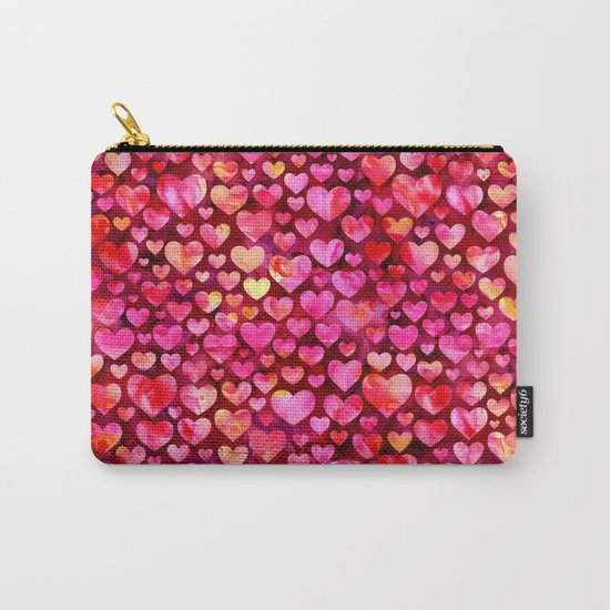 Heart Pattern 03 Carry-All Pouch