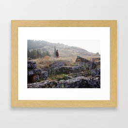 Ancient Dreams Framed Art Print