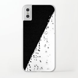Ying Yang Clear iPhone Case