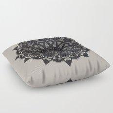 Black Space  Floor Pillow